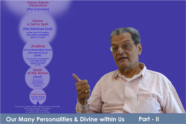 Video Title: Our Many Personalities & Divine within Us Part II